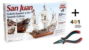 a artesania latina 18022 maqueta de barco en madera galeon espanol san juan130