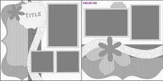 Layout Sketch Challenge by Kiwi Lane Designs www.kiwilane.com
