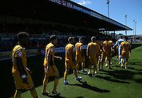 060816 - Newport County AFC v Mansfield Town FC - Rodney Parade, Newport, Wales<br /> <br /> <br /> <br /> © Davies Sport Photo
