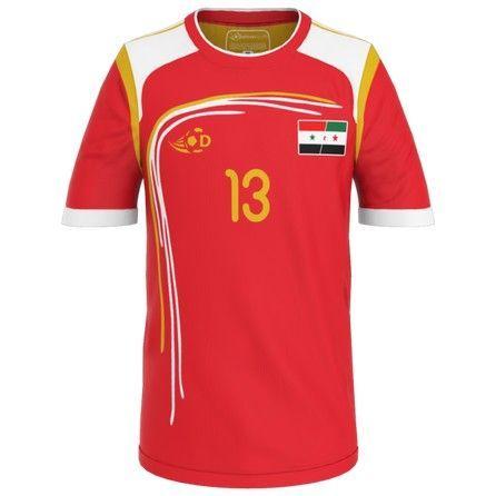 Syria Football Jersey