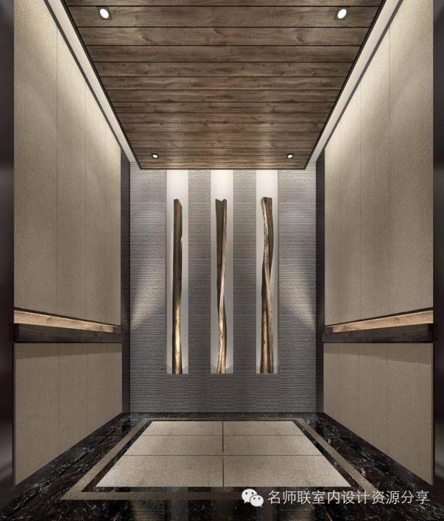 HBA+CCD酒店电梯厅设计参考115个【名师联独家细分电梯厅】 | 名师联室内设计资源分享                                                                                                                                                                                 More
