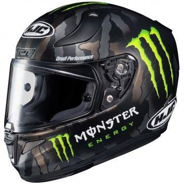 HJC RPHA 11 Pro Monster Military Camo Mens Street Cruising DOT Motorcycle Helmet