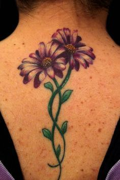 gerber daisy armband tattoo designs for women - Google Search                                                                                                                                                                                 More