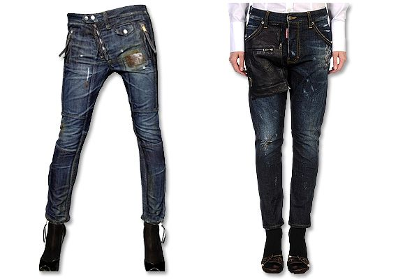 Znalezione obrazy dla zapytania dsquared jeans womens denim