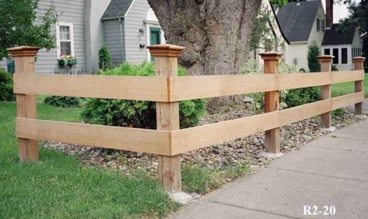 Rail and Split Rail Fences | Minneapolis St. Paul | Midwest Fence
