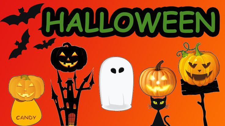 Halloween Finger Family | Finger Family Nursery Rhymes | Pumpkin Finger ...