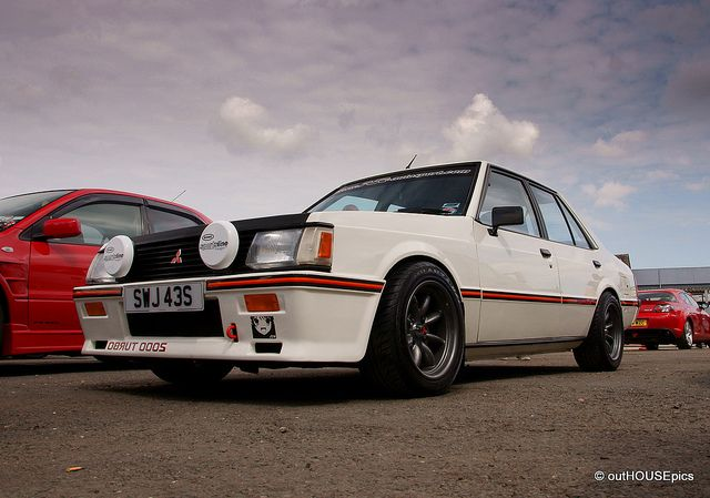 Do Want! Mitsubishi Lancer 2000 EX Turbo by outHOUSEpics, via Flickr
