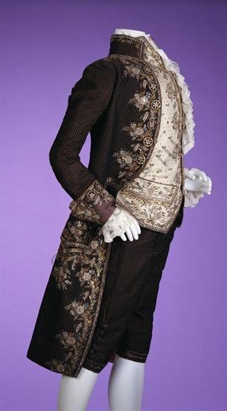История мужского костюма военного 18 века