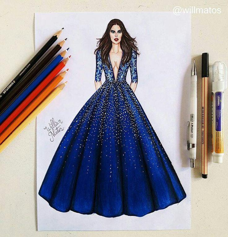 William Matos Fashion Illustration