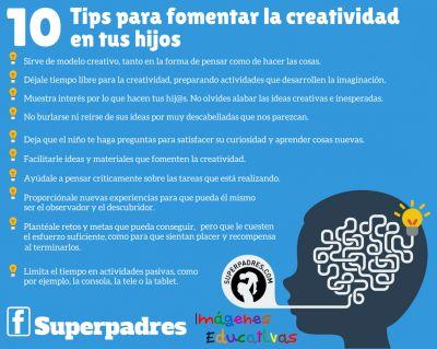 10 tips para fomentar la creatividad en tus hij@s