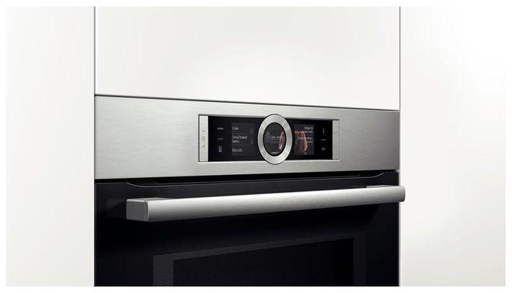 Reiniging: EcoClean: zelfreinigende katalytische achterwand  Ovenruimte: antraciet geëmailleerd  Vlakke glazen magnetron binnendeur  Kijkvenster met comfort-warmtebescherming max. 40°C  Inhangroosters / uittreksysteem:  Telescooprails 1-voudig