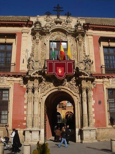 Palacio Arzobispal de Sevilla.  Spain
