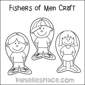 Fish Kids for Fisher's of Men Bible Lesson