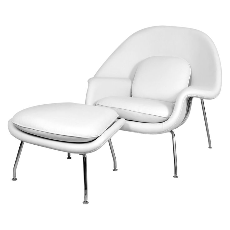 Have To Have It Control Brand Mid Century Womb Chair And