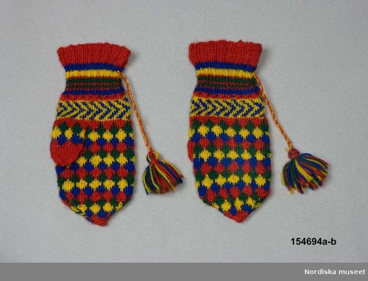 Vantar, Saami Mittens Jukkasjärvi Here are some very useful tips before knitting this pattern! https://www.pinterest.com/pin/326088829248388631/