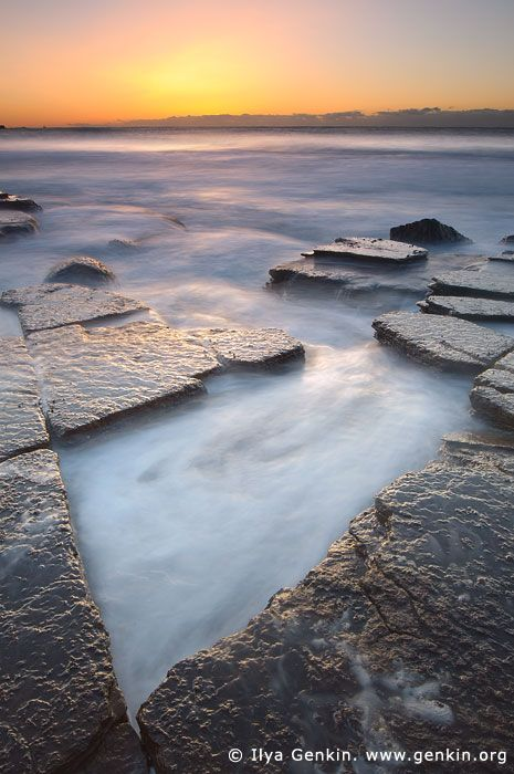 Nice scene...Morning Light at Avalon Beach, Sydney, Australia