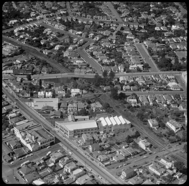 Factories on the New North Road, Auckland, New Zealand