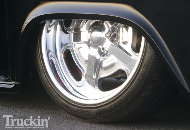 1957 Chevy Stepside Pickup BF Goodrich Tires