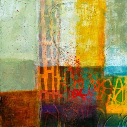 Jane Davies - Monoprint Collage Online class - It is a six week class in which we'll explore the possibilities of the GelliArts gel plate, and build images using print and collage.  We'll cover basic gel plate techniques and then move quickly to projects that develop visual content using monoprint, collage, drawing, and painting in a fluid no-boundaries process.