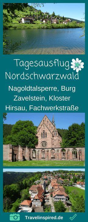 Tipps für Ausflugsziele an der deutschen Fachwerkstraße im Nordschwarzwald in …   – Ausflüge
