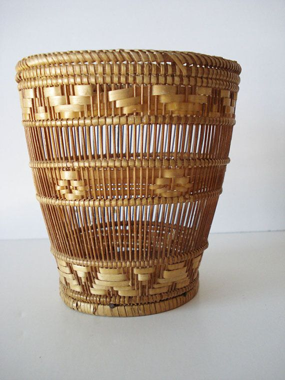 Native American Basket by poshflea on Etsy