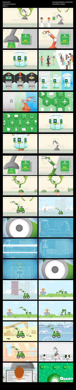 Концепт-раскадровка, графика для анимации Проект:«Quantum-systems»