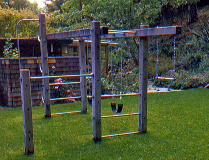 Cheap Backyard Playground Ideas 25 best ideas about kid friendly backyard on pinterest kids yard backyard splash pad and playground ideas Modern Playground That Doesnt Mess Up The Aesthetics Of Your Backyard
