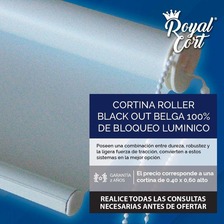 cortina roller black out belga 100% bloqueo luz blackout