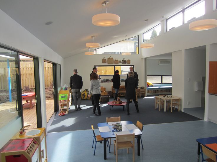 The Bossley Architects team visits the completed Hearing House preschool.