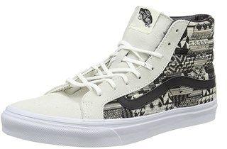 Vans Womens Sk8 Hi Slim Low Top Lace Up Fashion Sneaker.
