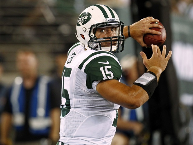 Tim Tebow, Mark Sanchez showing a lot of nothing with Jets ...