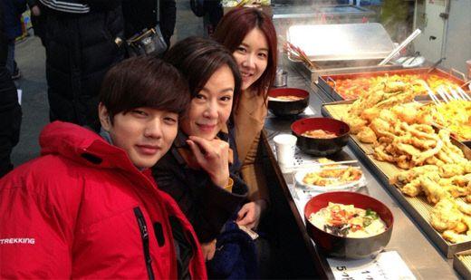 Yoo SeungHo taking a break