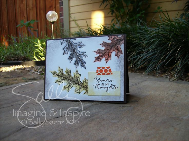 Fun with stencils. #imagineANDinspire #stampinup