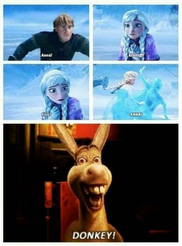 FROZEN AND TANGLED MEMES AND GIFS