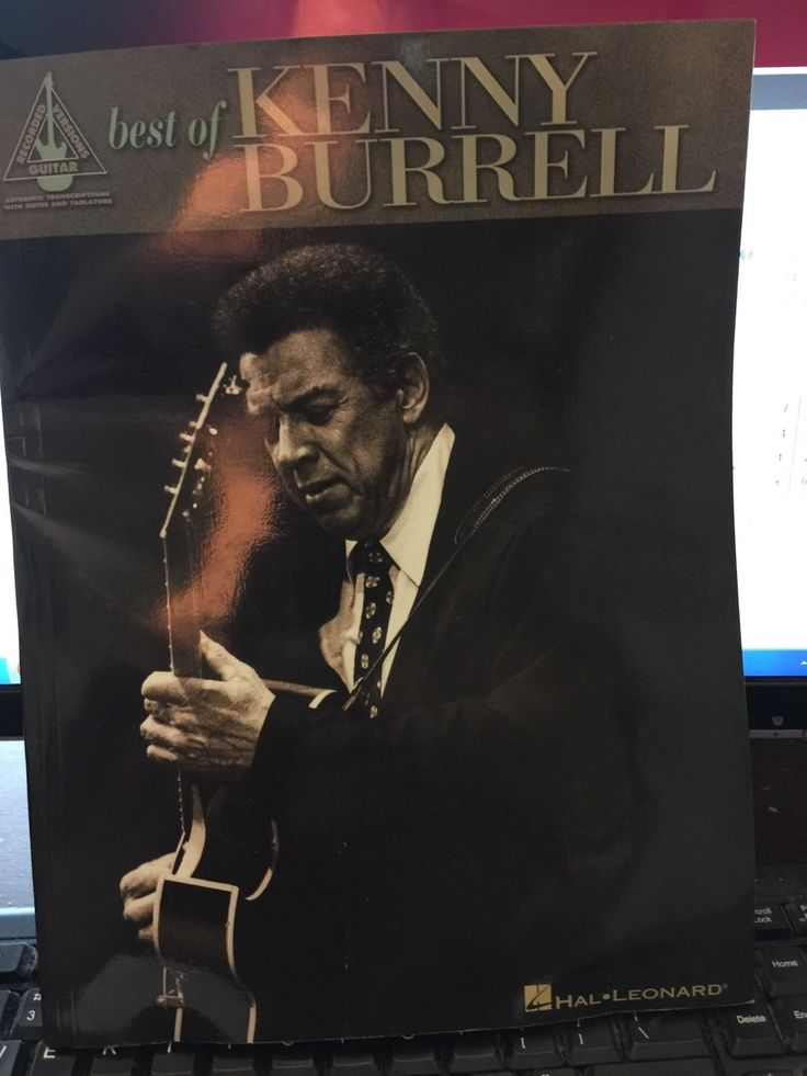 Kenny Burrell  Best Of Kenny Burrell Guitar Transcription Tab Book New