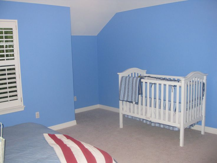 Benjamin Moore Summer Blue Toddler Room Pinterest