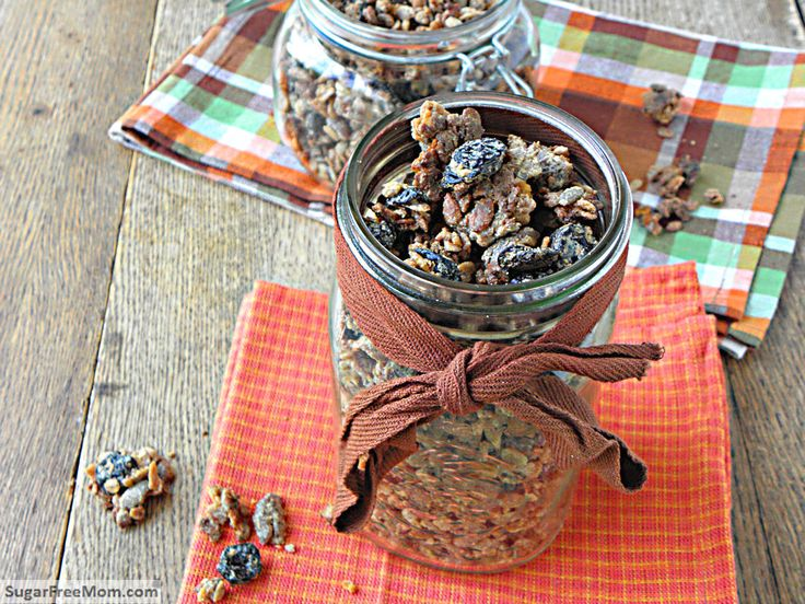 Nut Free Gluten Free Honey Granola