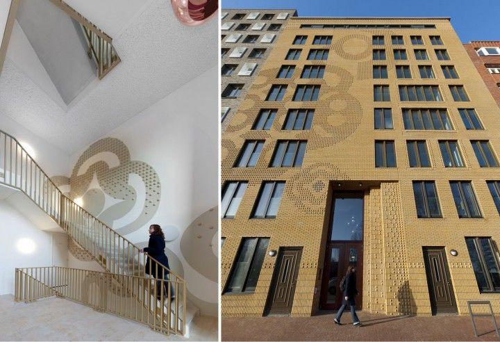 Simone Drost Architecture, Rotterdam, zintuiglijke en duurzame architectuur, Drost en van Veen, Woningen Nieuw Crooswijk, Rotterdam
