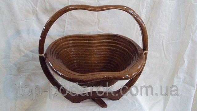 Фруктовница деревянная размер 36*40*30, цена 512,05 грн., купить в Киеве — Prom.ua (ID#16782536)