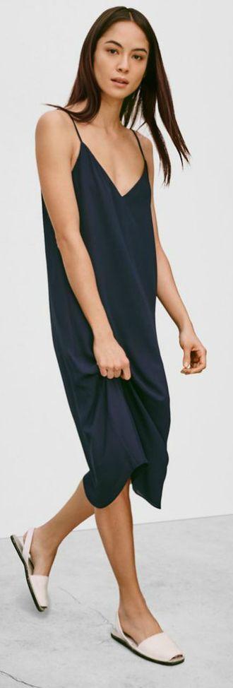 Black Slip Dress by LadyAddict