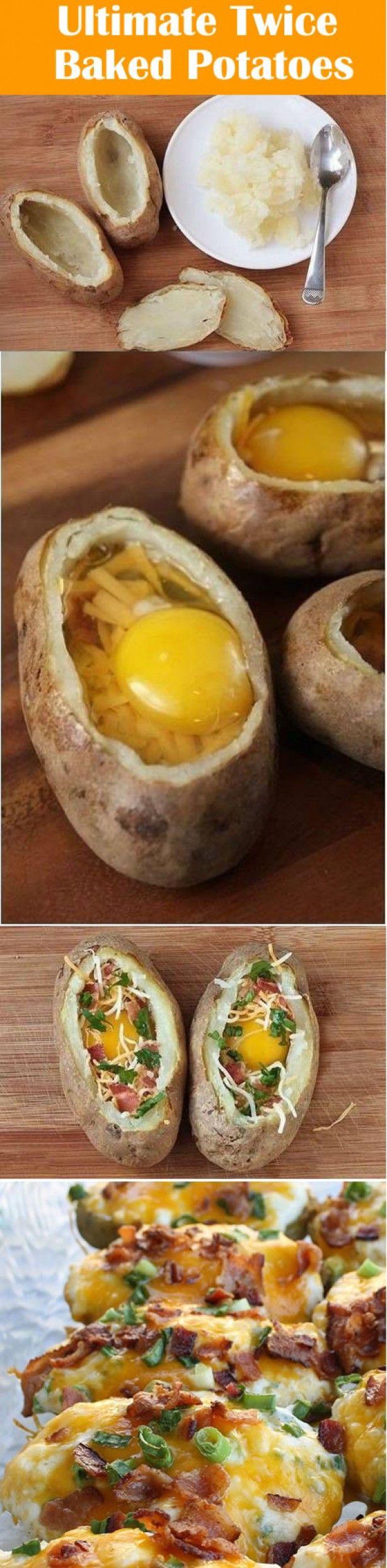 Ultimate tweemaal gebakken aardappelen