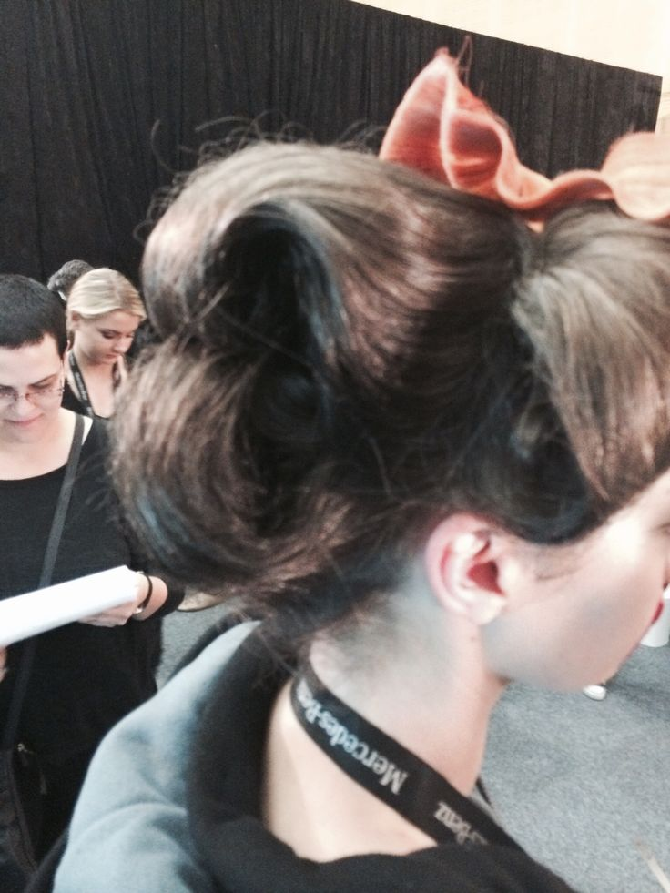Hair by Ierephaan for Fashion Week 2014