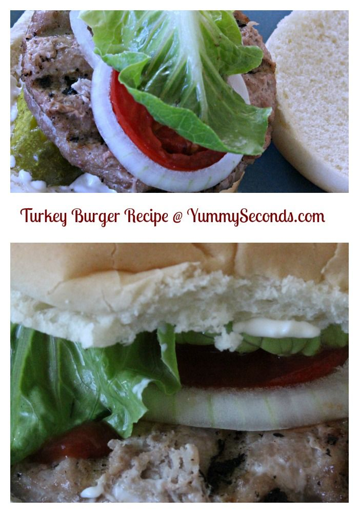 Turkey Burger Recipe I Ready To Serve In 20 Minutes I To Make This Recipe, Visit http://www.yummyseconds.com/turkey-burger/