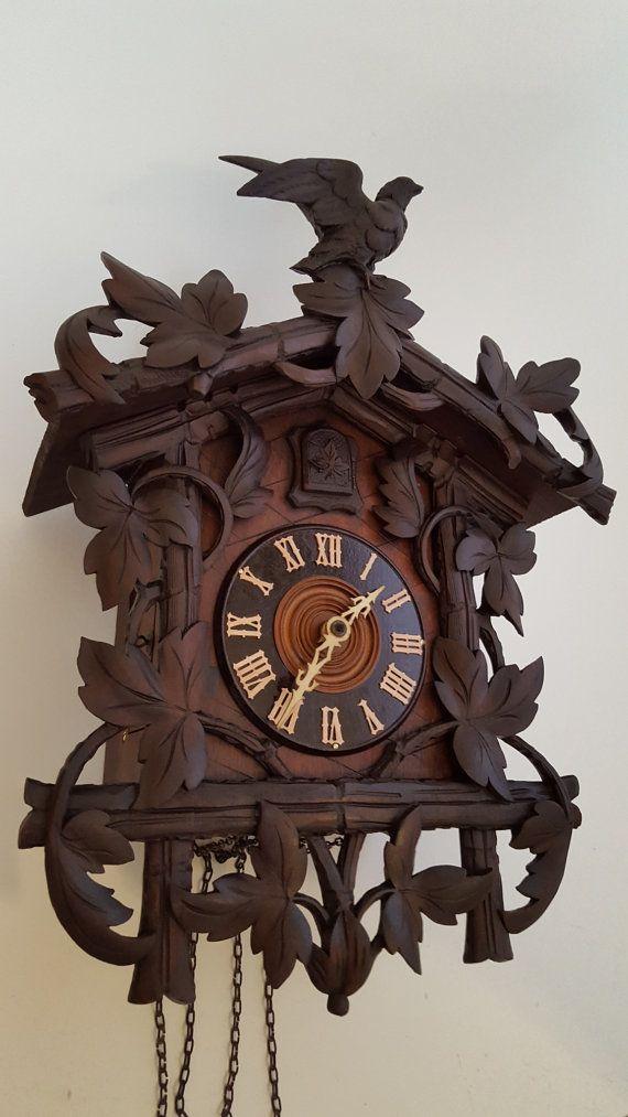 Unusual Cuckoo Clocks 31 best cuckoo clocks carved style images on pinterest   cuckoo