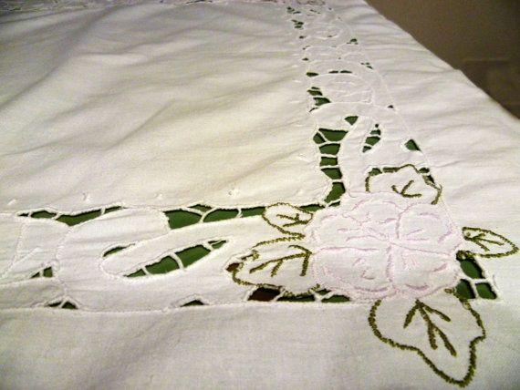 Cotton tablecloth vintage/Tovaglia di cotone vintage di BRAMAS