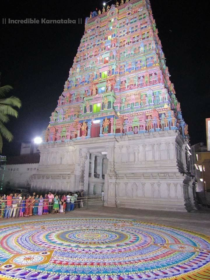 A Temple scene.