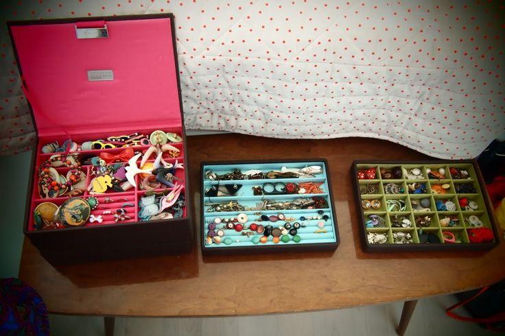 My vintage brooch collection / Tweedehandsliefde in huis #5   De Groene Meisjes