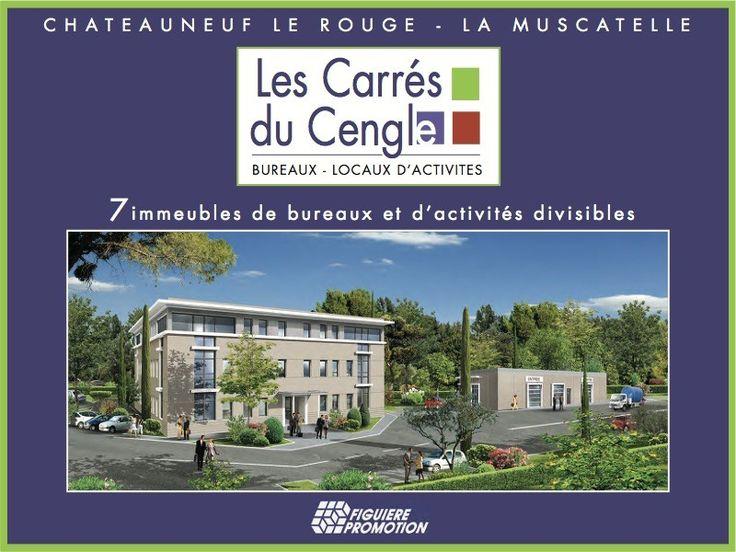 Programme Immobilier Mixte LES CARRES DU CENGLE à Chateauneuf le Rouge - Figuiere Promotion