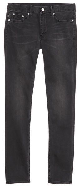 $215, Black Jeans: BLK DNM Skinny Fit Classic Faded Jeans 25. Sold by East Dane. Click for more info: http://lookastic.com/men/shop_items/32841/redirect