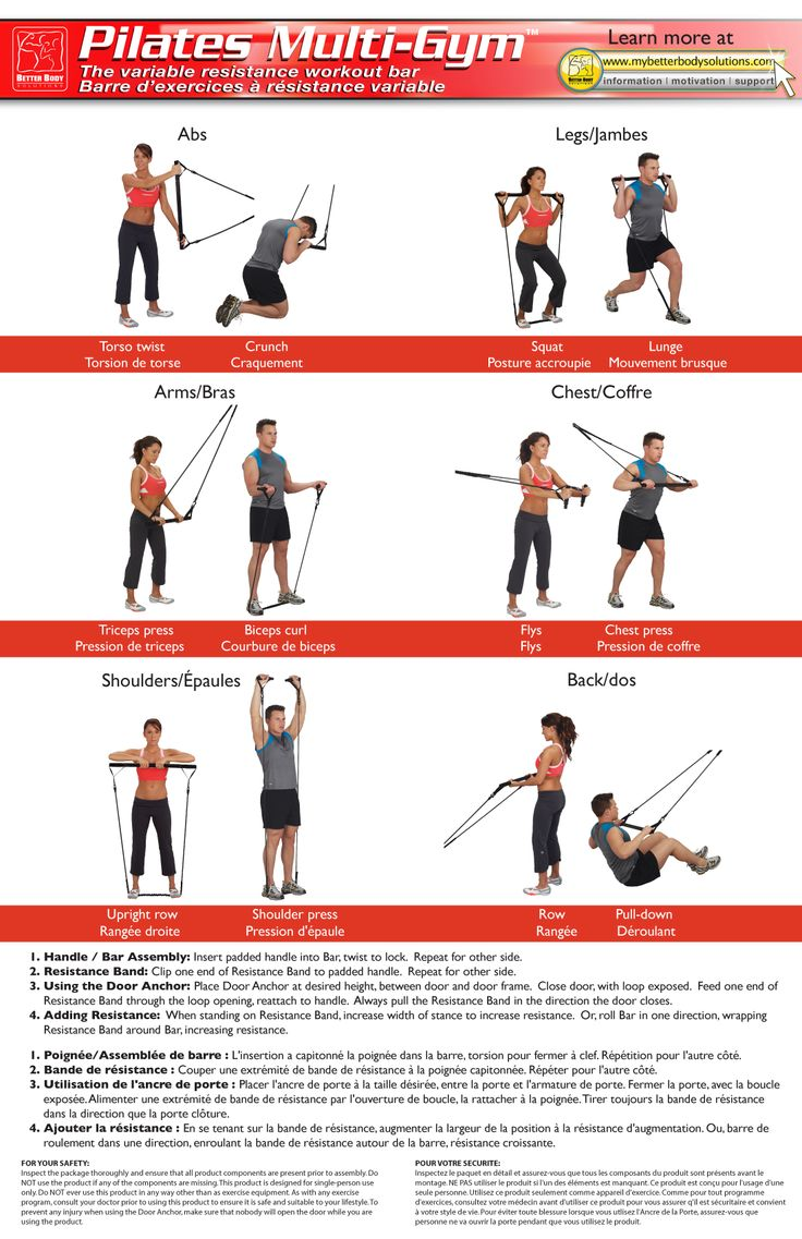 Pilates Bar Exercises Google Search Fitness